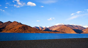Pangong Lake in Ladakh, India Stock Photo