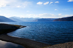 Pangong Lake in Ladakh, Jammu and Kashmir, India Stock Images