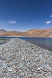 Pangong Lake, Ladakh Kashmir Stock Photo