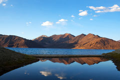 Pangong Lake in Ladakh, North India Royalty Free Stock Photography