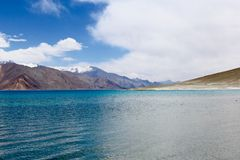 Pangong Lake, Leh, India Stock Image