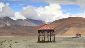 Pangong lake in Leh, Ladakh, India. Beautiful scenic view of Pangogn lake in Leh, Ladakh, India Royalty Free Stock Image