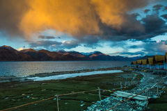 Pangong Lake LehLadakh Royalty Free Stock Photography
