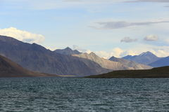 Pangong Lake (Panngong Tso) Stock Photos