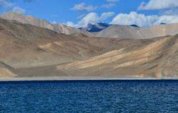 Pangong Lake. This is a photo of Pan gong Lake in India Stock Images