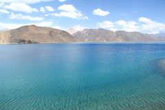 Pangong Lake. Royalty Free Stock Photo