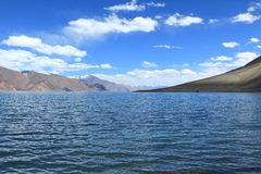 Pangong Lake. royalty free stock photography