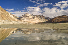 Pangong Lake, Ladakh India Royalty Free Stock Photos
