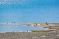 Pangong See in Ladakh, Indien Lizenzfreies Stockbild
