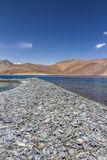 Pangong See, Ladakh Kaschmir Stockfoto