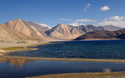 Pangong Tso (lake) Royalty Free Stock Image