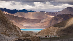 Pangong Tso Lake Royalty Free Stock Photo