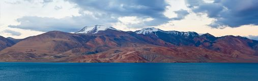 Pangong Tso Lake in Ladakh, North India Stock Photos