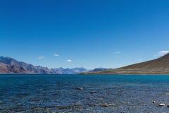 Pangong TSO Lake Stock Photography