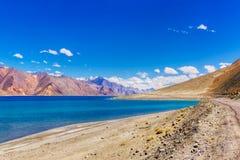 Pangong Tso-See, Leh, Ladakh, Indien Stockfoto
