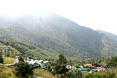 Pangot is a beautiful. Beautiful Pangot Villagevillage located about 15 km from Nainital Royalty Free Stock Photos