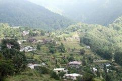 Pangot Village. Pangot is a beautiful village located about 15 km from Nainital Stock Photo