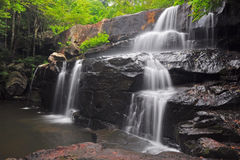 Pangsida Waterfall Royalty Free Stock Photo