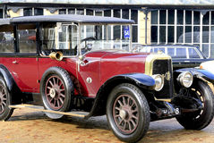 1924年Panhard和Levassor类型X46 Landaulette 图库摄影