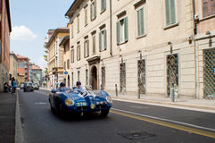 Panhard HBR at Mille Miglia 2015 Stock Images