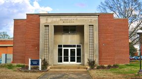 Panhellenic Building at The University of Memphis Royalty Free Stock Image