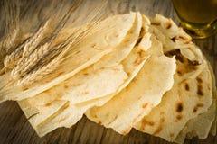 Pani Carasau, Sardinian Bread Royalty Free Stock Photography