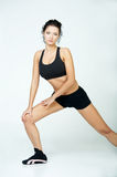 pani fizycznej fitness Zdjęcia Stock