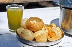 Pani Puri Stock Images