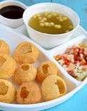 Pani Puri Royalty Free Stock Photo