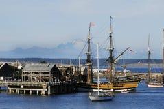 pani Washington portu obraz royalty free