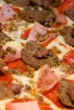pani wyśmienitego mięsa s pizza Obrazy Royalty Free