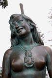 Pania of the Reef, Napier, New Zealand. Napier, New Zealand - March 6, 2015: Pania of the Reef Bronze Statue Stock Photography