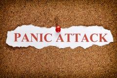 Panic Attack Stock Photo
