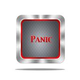 Panic button. Royalty Free Stock Photo