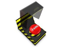 Panic button Royalty Free Stock Images