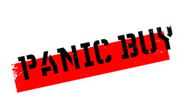 Panic Buy rubber stamp Royalty Free Stock Photos