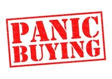 PANIC BUYING Stock Photos