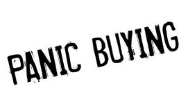 Panic Buying rubber stamp Royalty Free Stock Images