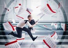 Panic deadlines Stock Images