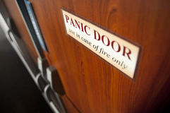 Panic doors Royalty Free Stock Image