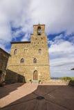 Panicale, une ville médiévale antique dans la province de Pérouse dedans Photos stock