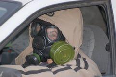 Panico ucraino di h1n1. Immagine Stock Libera da Diritti
