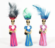 panie katrinas meksykańskie ciemnych Obrazy Royalty Free