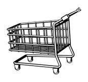 Panier à provisions Images stock