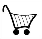Panier à provisions - vecteur Image stock