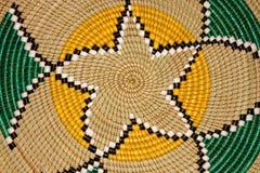 Panier africain Photographie stock libre de droits