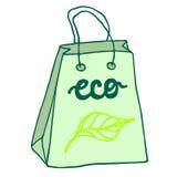 Panier amistoso de Eco con las manijas Fotografía de archivo libre de regalías