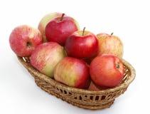 Panier d'Apple Photos stock