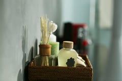 Panier d'aromatique Image libre de droits