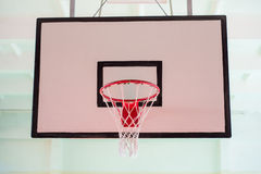 Panier de basket-ball Photographie stock libre de droits